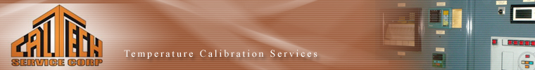 Caltech Service Corp. | Temperature Calibration Services